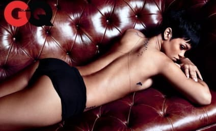 Rihanna GQ Photos: Topless, Tattooed