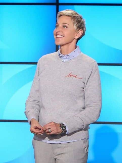 Ellen Degeneres Offers Message Of Hope For America The