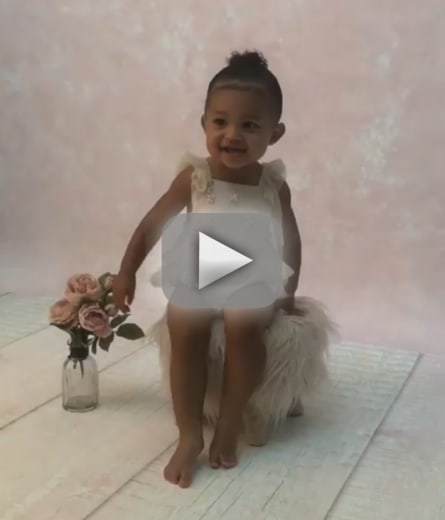 Stormi webster speaks watch the adorable video