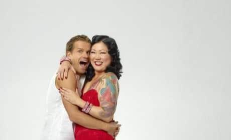 Margaret Cho and Louis Van Amstel
