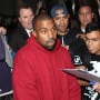 Kanye West Lands at LAX