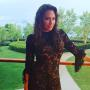 Amber Marchese Black Lace Dress