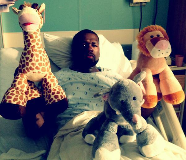 50 Cent in the Hospital