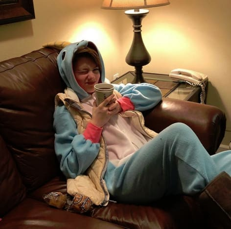 Rain Brown, Unicorn Onesie