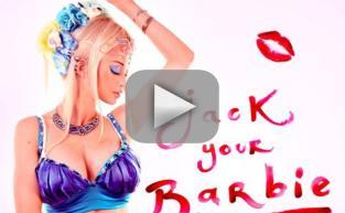 "Valeria Lukyanova - ""Jack Your Barbie"""
