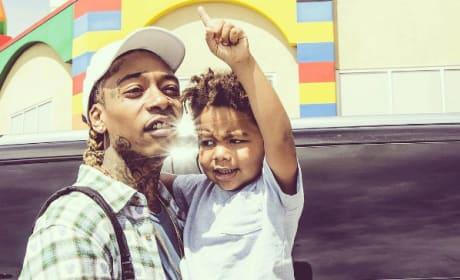 Wiz Khalifa and Son
