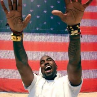 Kanye on July 4