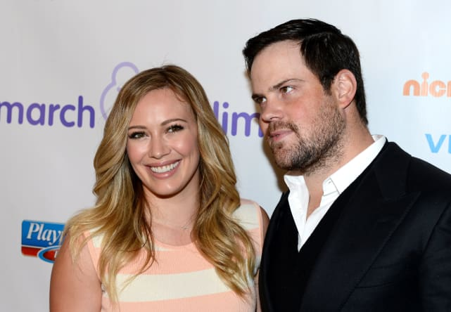 Hilary duff and mike comrie 7th annual march of dimes celebratio