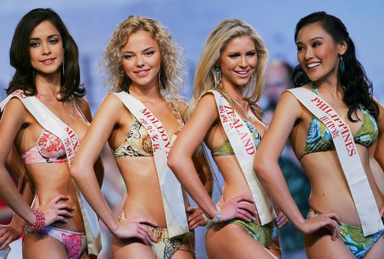 Amusing phrase miss world pageant bikini confirm