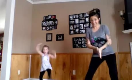 Pregnant Mother and Daughter Host Epic Dance Party