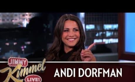 Andy Dorfman on Jimmy Kimmel Live - Interrogation