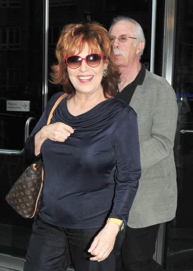 Joy Behar and Steve Janowitz