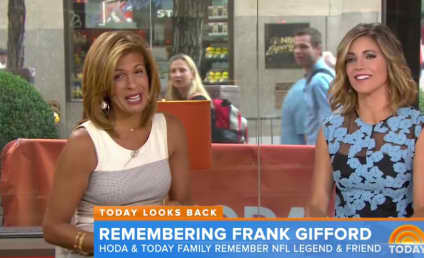 Frank Gifford: Honored by Hoda Kotb on The Today Show