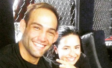 Guilherme Vasconcelos and Demi Lovato