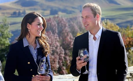 William and Kate at Vineyard