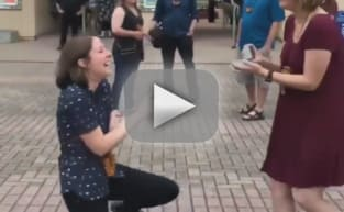 Couple Surprises One Another with Proposals at Same Time: WATCH!
