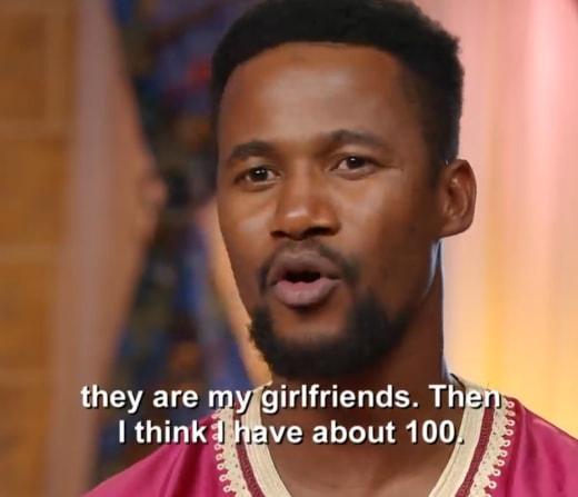 "lisa hamme and usman umar ""100 girlfriends"""