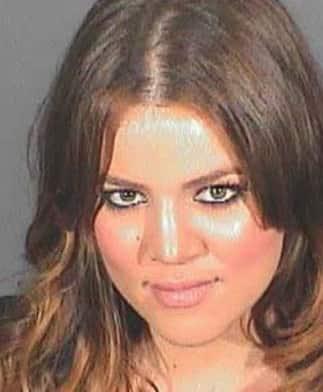Khloe Kardashian Mug Shot