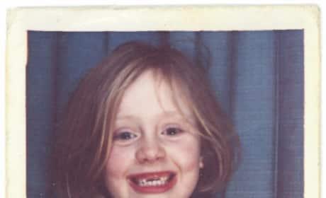 Adele Throwback Photo