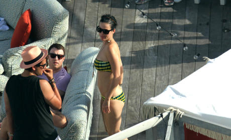 Katy Perry Vacation Pic