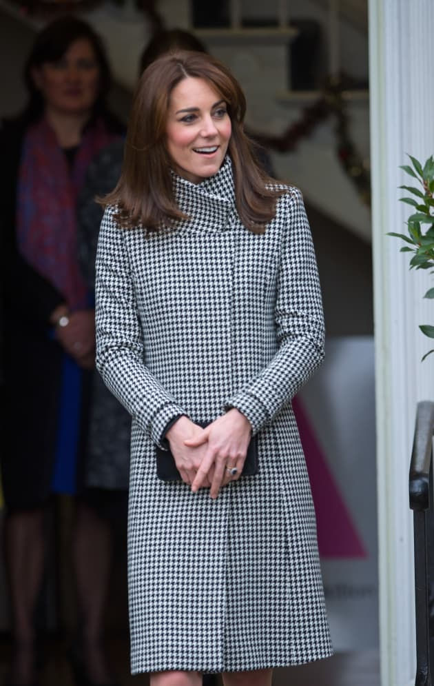 5d57481d228 Kate Middleton Wears Reiss Jacket To Action on Addiction Center ...
