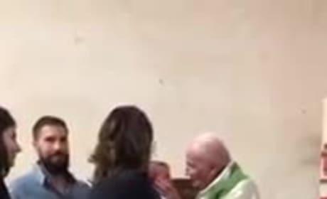 Priest Slaps Crying Baby, Internet Flips Its $hit