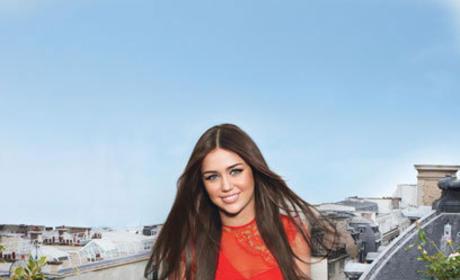 Miley in Teen Vogue