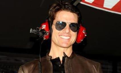 Tom and Connor Cruise Do Daytona