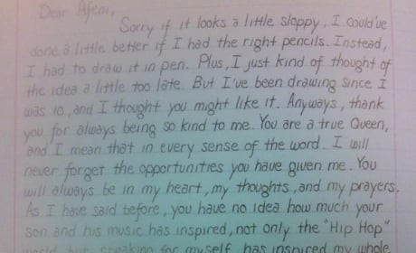 Eminem's Letter to Tupac's Mom