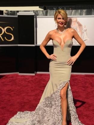 Brandi Glanville Oscar Dress