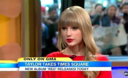 Taylor Swift on Good Morning America: Living on the Edge!
