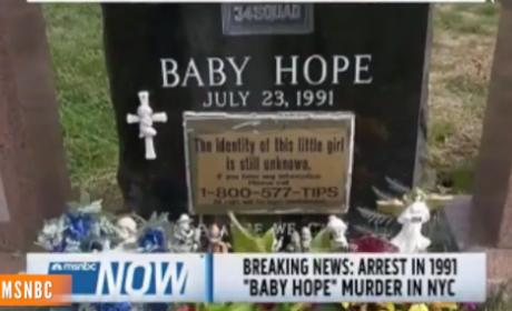 Baby Hope Arrest Made, Identity Revealed