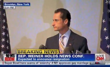 Anthony Weiner Resignation Pic