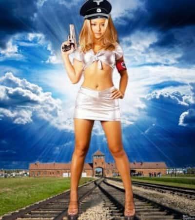 Tila Tequila as a Nazi