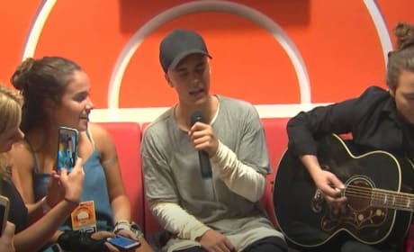 Justin Bieber Plays Special Concert for Special Audience