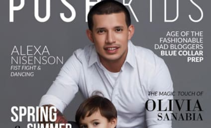 Javi Marroquin: See His Adorable Magazine Cover with Son Lincoln!