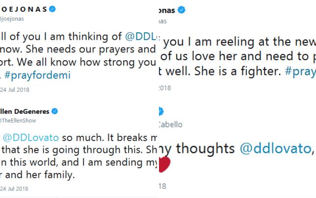 Demi lovato overdose tweets 01
