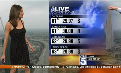 Request for Meteorologist to Cover Up Sparks #Sweatergate