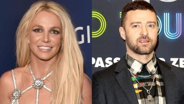 Britney Spears and Justin Timberlake   7 Celebrity