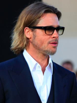 Brad Pitt, Glasses
