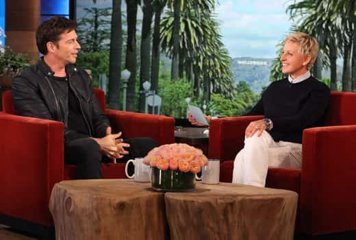 Harry Connick Jr. and Ellen