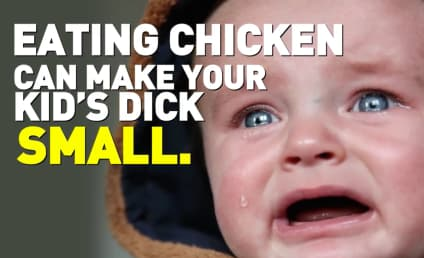 PETA Warns: Eating Chicken Will Shrink Your Son's Penis!