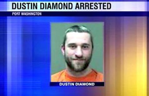Dustin Diamond Mug Shot
