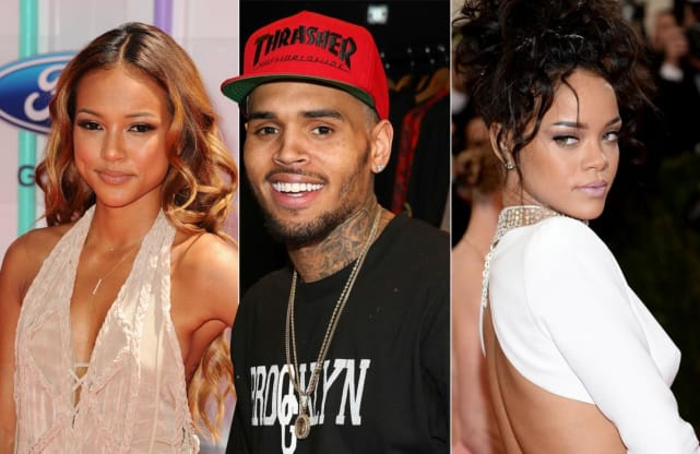 Karrueche Tran And Rihanna Physical Fight 11 Celebrity Lo...