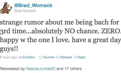 Brad Womack: No Chance of Third Bachelor Stint
