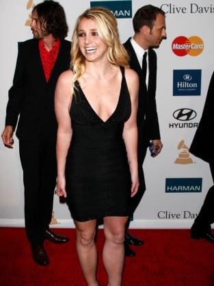 Britney Spears, Black Dress