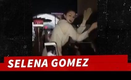 Selena Gomez Slams Back Tequila, Dances on Bar