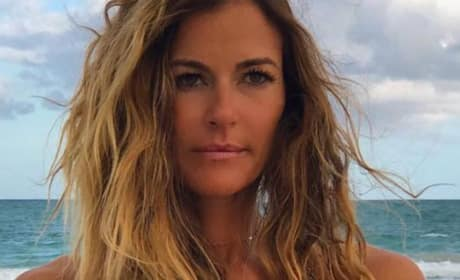 Kelly Bensimon In Sultry Pose