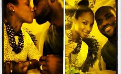 LeBron James and Savannah Brinson Honeymoon in Rome, Share Instagram PDA Pics