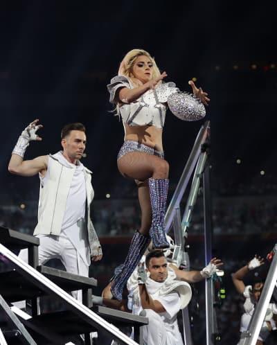Lady Gaga as Wide Receiver